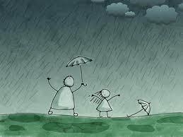 bermain hujan