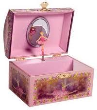 kotak musik merah jambu