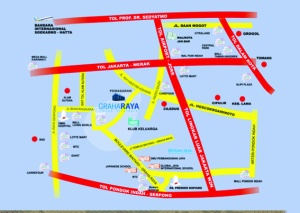 graha_raya_perumahan_baru_di_tangerang_map